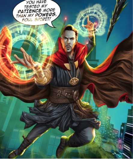 360 comics example doctor strange