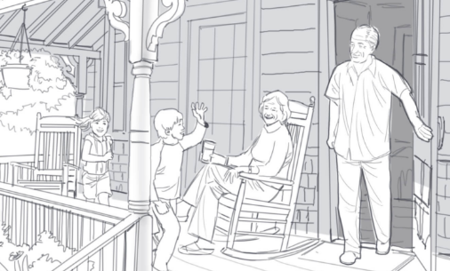 storyboards digital line wash sample